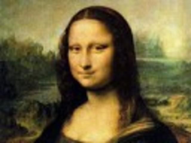 Painting of Mona lisa