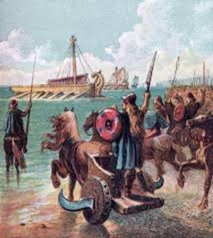 Romans Invade Britain