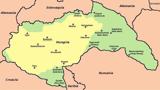 Hungría declara la Guerra