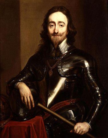 Carlos I asciende al trono de Inglaterra.