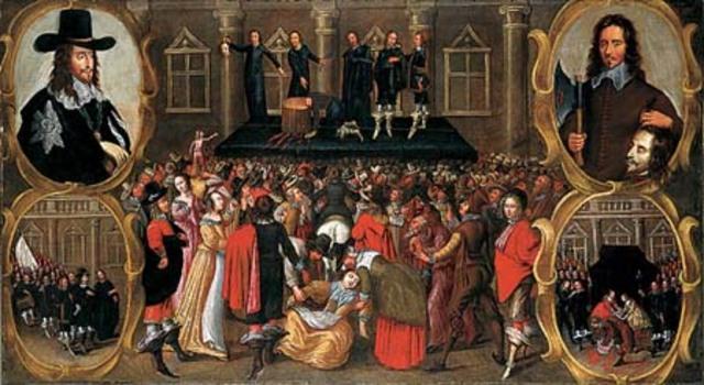 El rey Carlos I es decapitado.