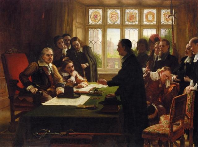 Se establece la República en Inglaterra.