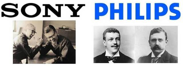 Компании Sony и Philips