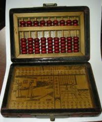 Primer maquina para hacer un calculo