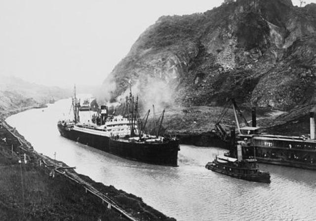 Inauguración del Canal de Panamá