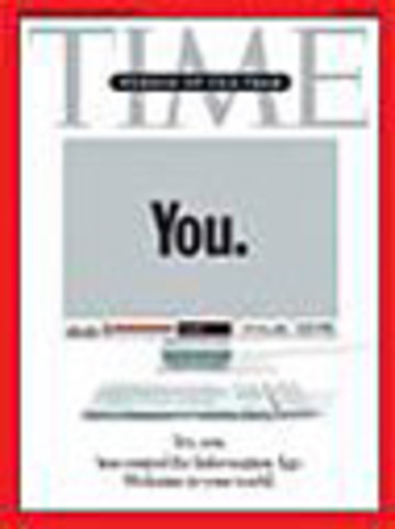 La revista Time lo nombra a Ud., como persona del año y el crecimiento de la Web 2.0