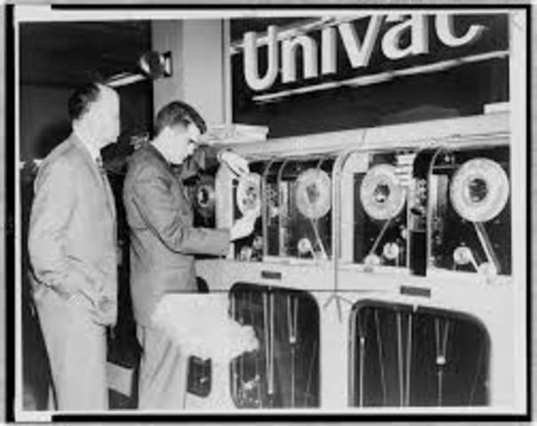 1 Generacion UNIVAC I