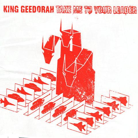 """Дэнил выпускает альбом """"Take me to your leader"""" под псевдонимом комиксного персонажа King Geedorah"""