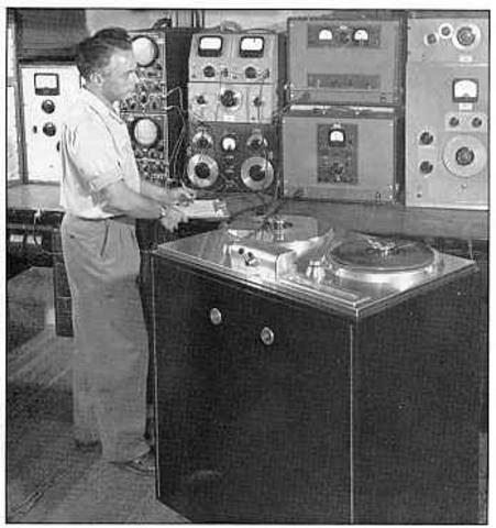 Первый магнитофон