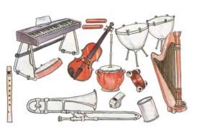 Elementos de viento y percusión