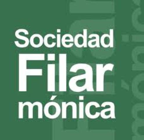 Se crea la sociedad filarmonica