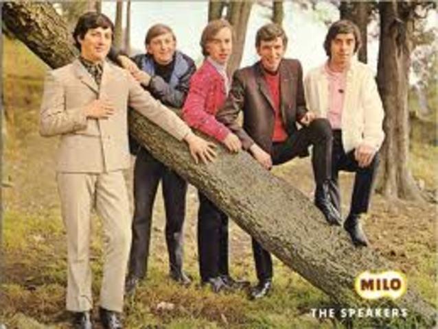 Se funda la banda THe Speakers