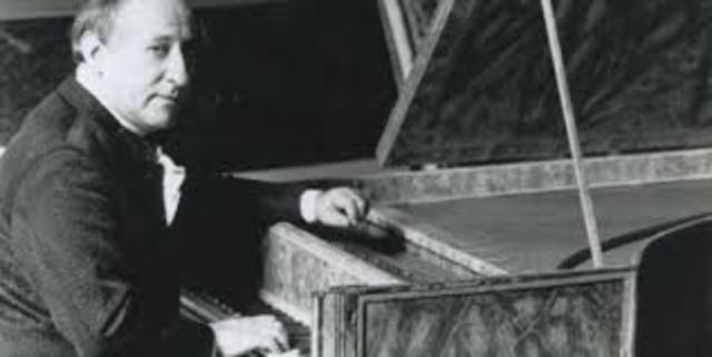Interprete colombiano Rafael Puyana