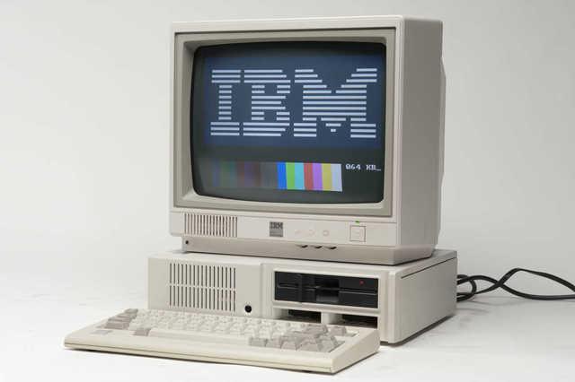 IBM PC con MS-DOS