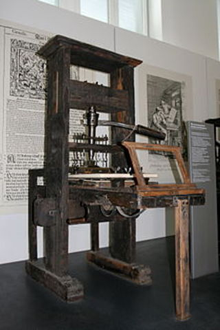 Invencón de la imprenta