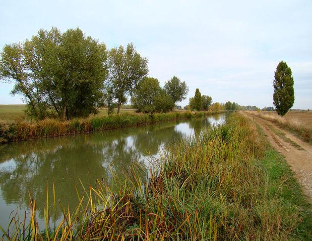 The Canal de Castila was built