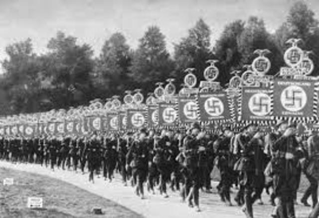 Nazi Party starts power
