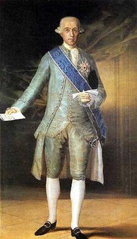 José Moñino y Redondo, I conde de Floridablanca
