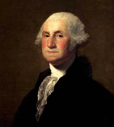 George Washington is chosen to lead continental army