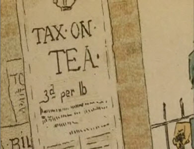 The Tea Act is passed by Parliament
