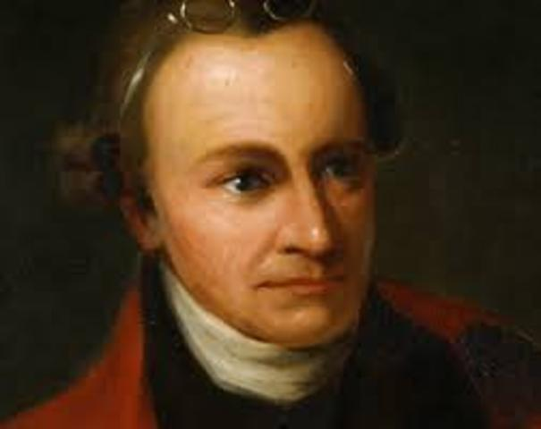 """Patrick Henry Delivers his """"Give me liberty or give me death speech"""""""