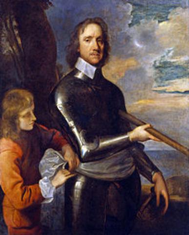 Fallecimiento de Cromwell