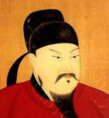 The Tang Dynasty was started by Li Yuan