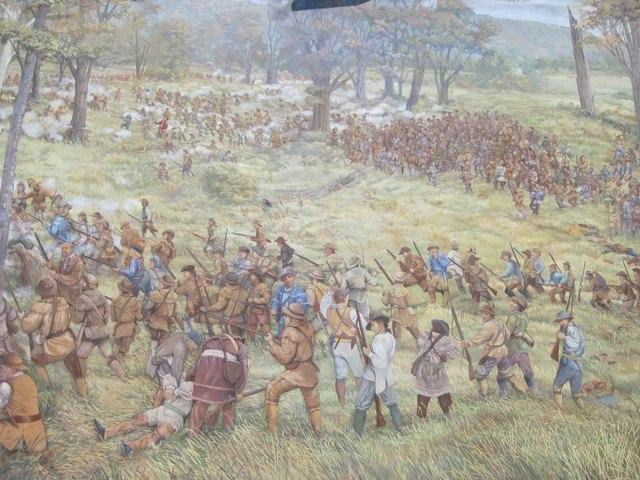 Battle at Point Pleasant