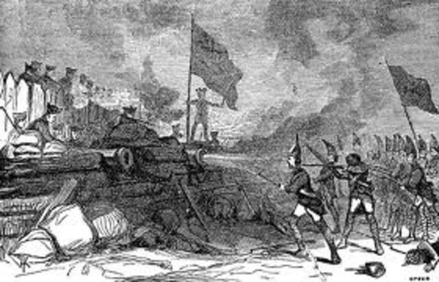 The Capture of Fort Ticonderoga