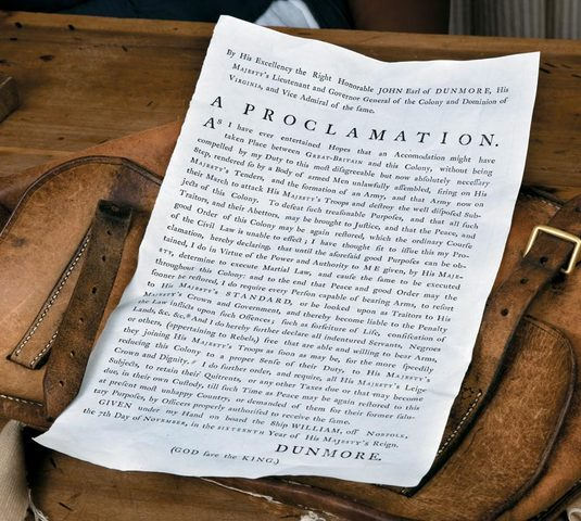 Dunmore's Proclamation