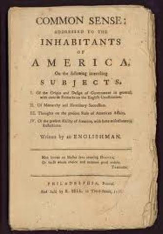 "Thomas Paine's ""Common Sense"" is published"