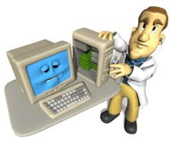 auxiliar en reparacion y mantenimiento de equipos de computo