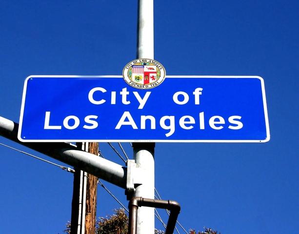 Chris enters Los Angeles