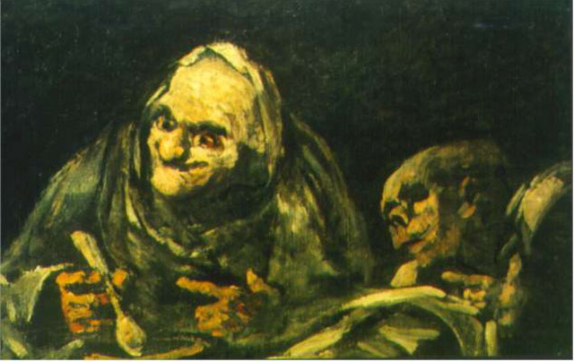 Old paintings from goya