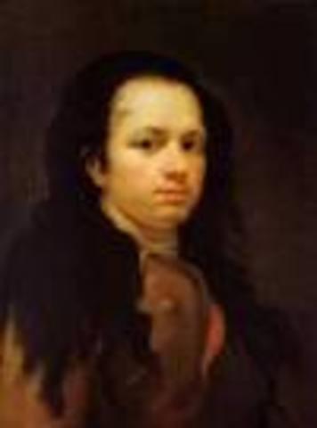 Portrait of Goya