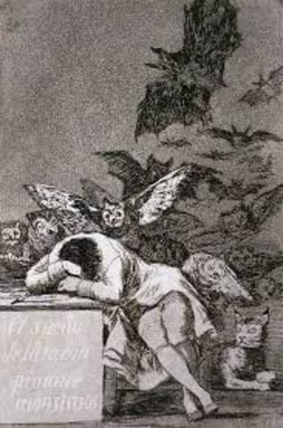 Caprichos: The Sleep of Reason Produces Monsters