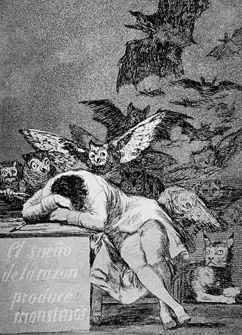 'Los Caprichos' of Francisco de Goya
