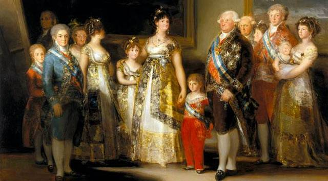 Painting of the family of Charles IV