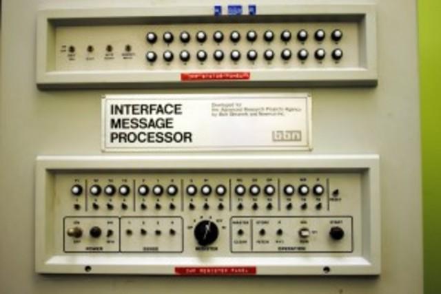 Comunicacion de paquetes ARPANET.