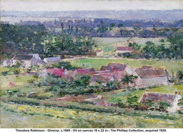 "Theodore Robinson's ""Giverny"""