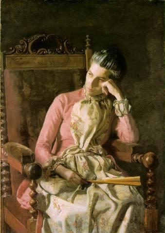 """Thomas Eakin's """"Miss Amelia Van Buren"""""""