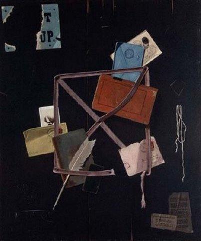 "John Frederick Peto's ""Old Time Card Rack"""