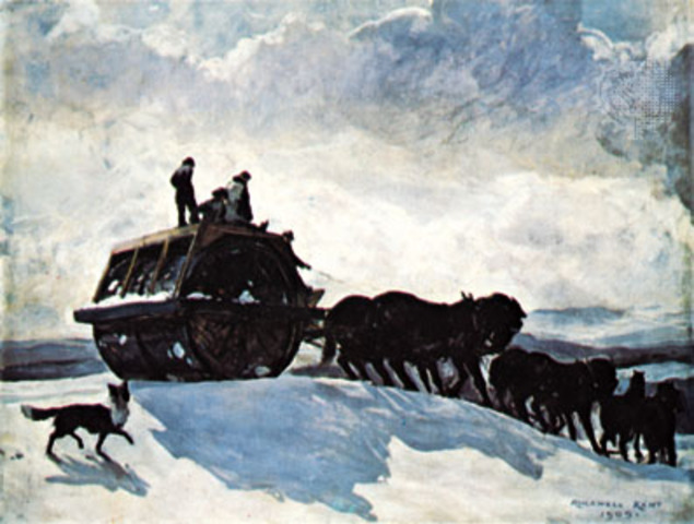 """Rockwell Kent's """"The Road Roller"""""""