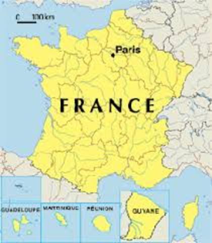 Traveling across France