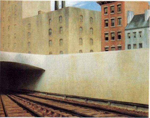 "Edward Hopper's ""Approaching a City"""