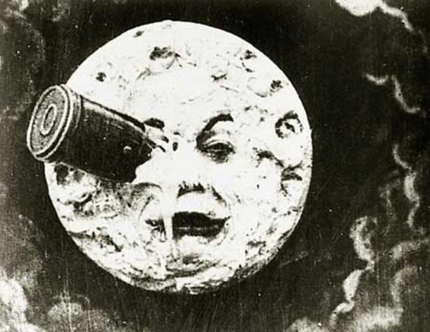 George Méliès graba Le voyage dans la lune