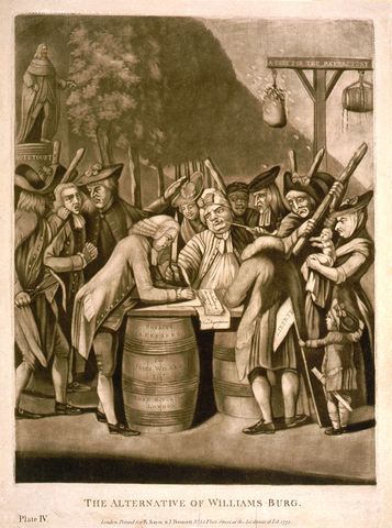 The Intolerable Acts Are Passed by Parliament