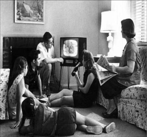 Llegada del televisor