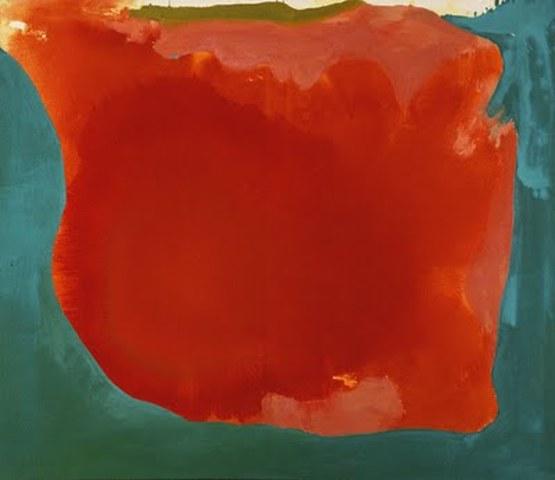 """Helen Frankenthaler's """"Canyon"""""""
