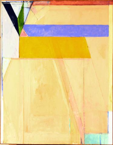"""Richard Diebenkorn's """"Ocean Park No. 38"""""""